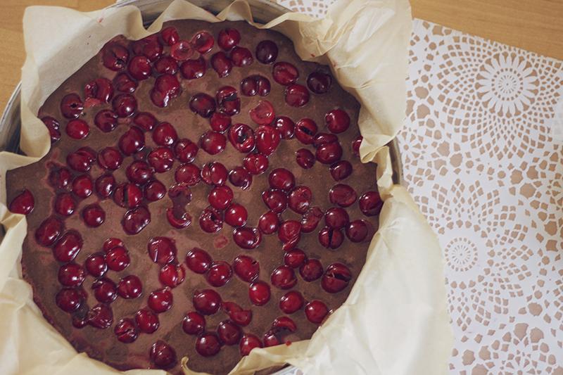 ciasto murzynek z wiśniami blog jest kreatywnie
